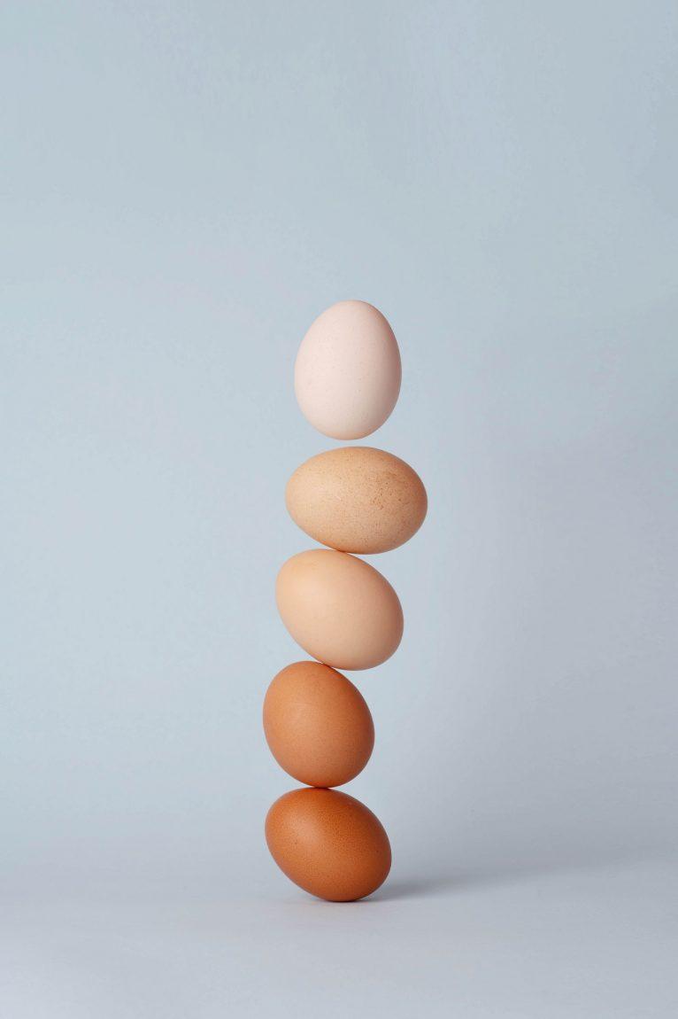 Propriedades dos ovos na confeitaria