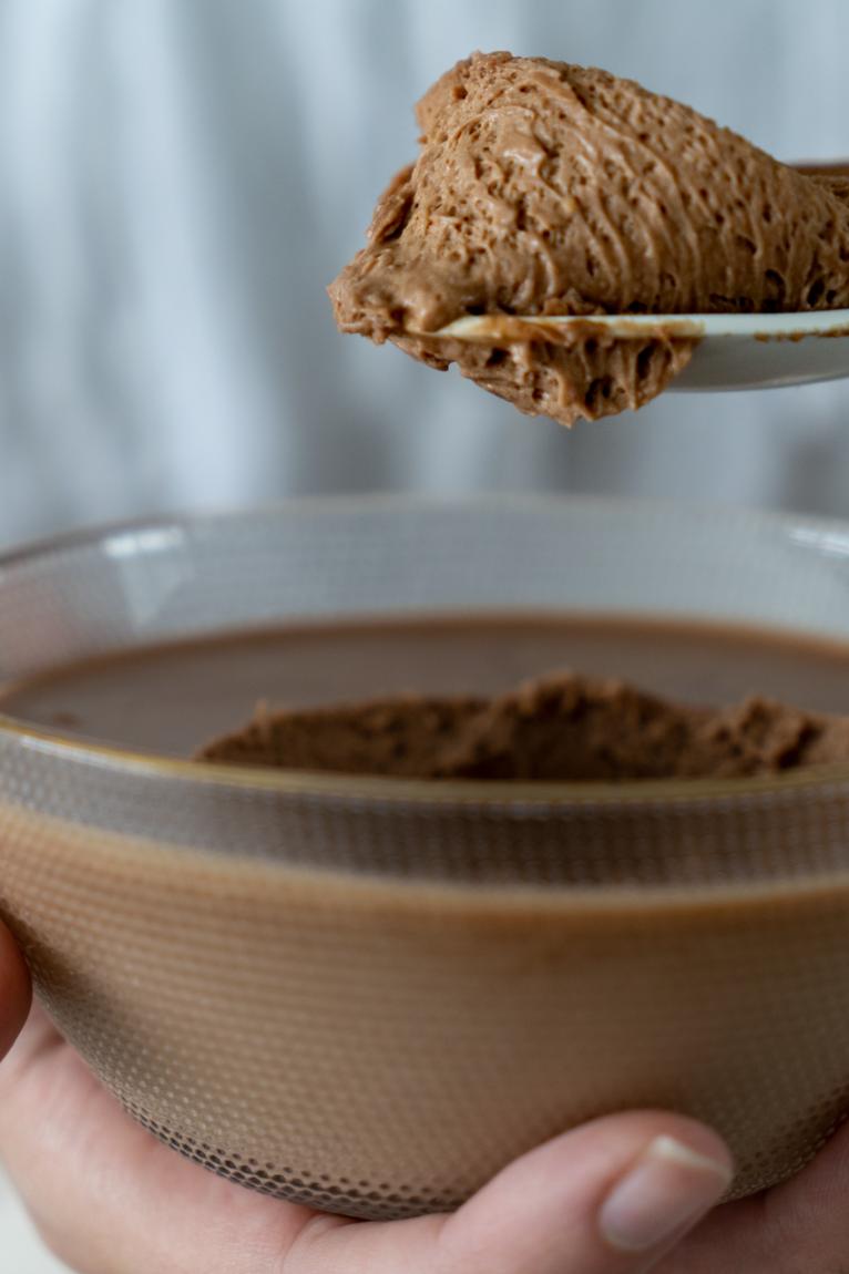 Mousse de chocolate | método anglaise