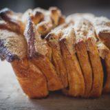 Pão de canela e laranja | pull apart coffee cake