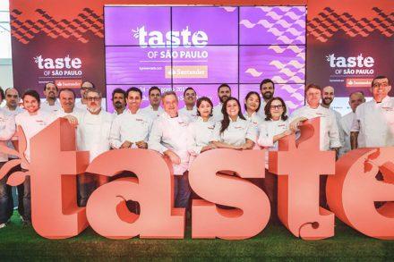 Os doces do festival Taste of São Paulo
