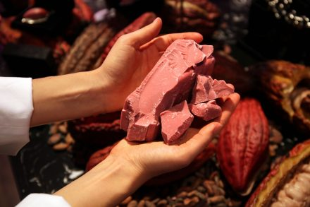 Barry Callebaut revela Rubi, o quarto tipo de chocolate.