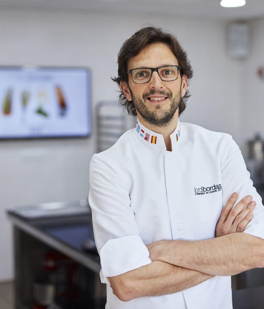 Jordi Bordas e seu novo conceito para a confeitaria