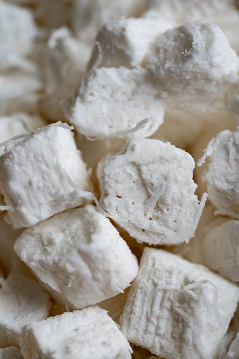 Bala de coco gelada