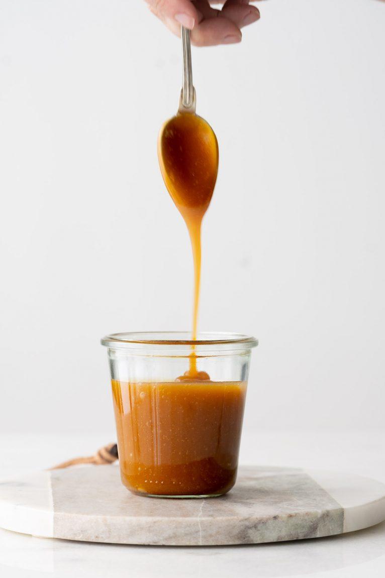 Caramelo toffee sem creme de leite fresco