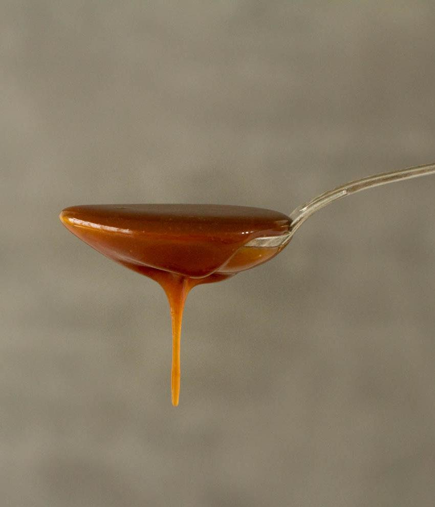 Calda de caramelo (toffee) | método seco