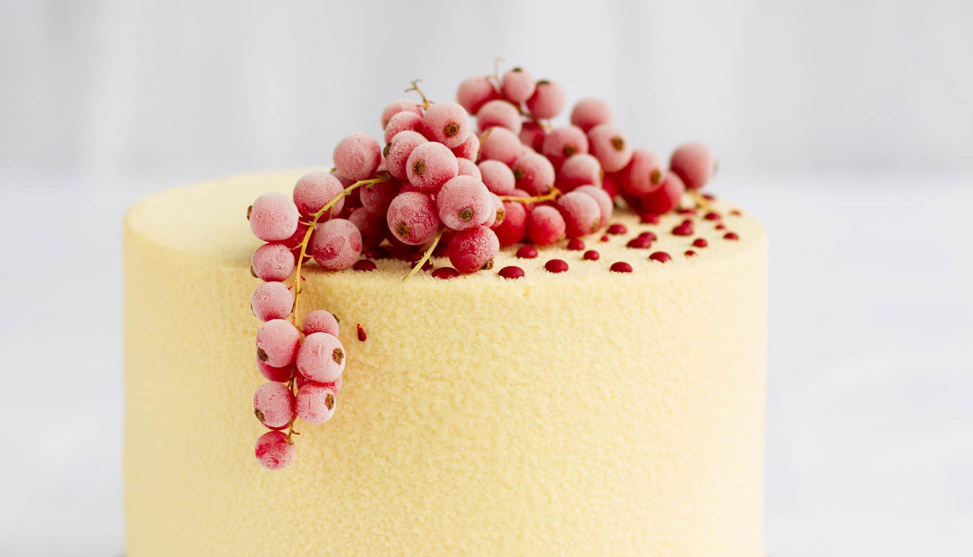 Veludo branco | Bolo Red Velvet com chocolate branco