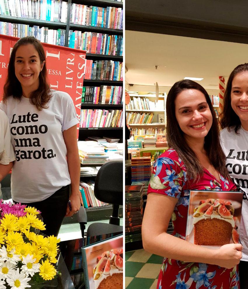 Tarde de autógrafos do livro A Química dos Bolos no Rio de Janeiro