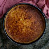Torta de queijo cremosa