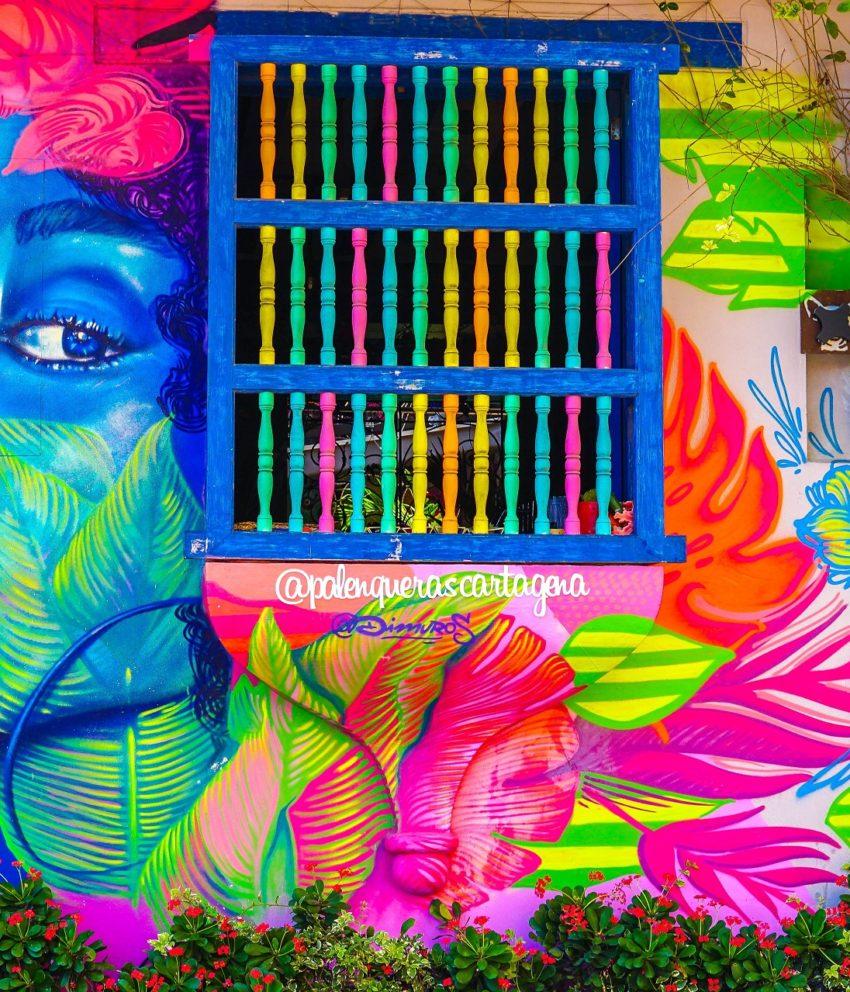 A colorida Cartagena