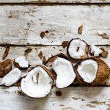 Leite de coco artesanal