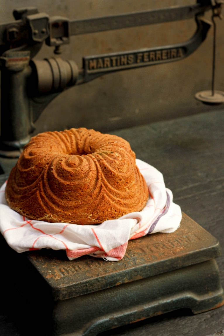 Bundt cake de pistache