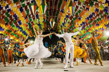 A origem da festa junina