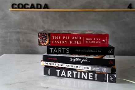 7 livros para quem quer saber tudo sobre tortas!
