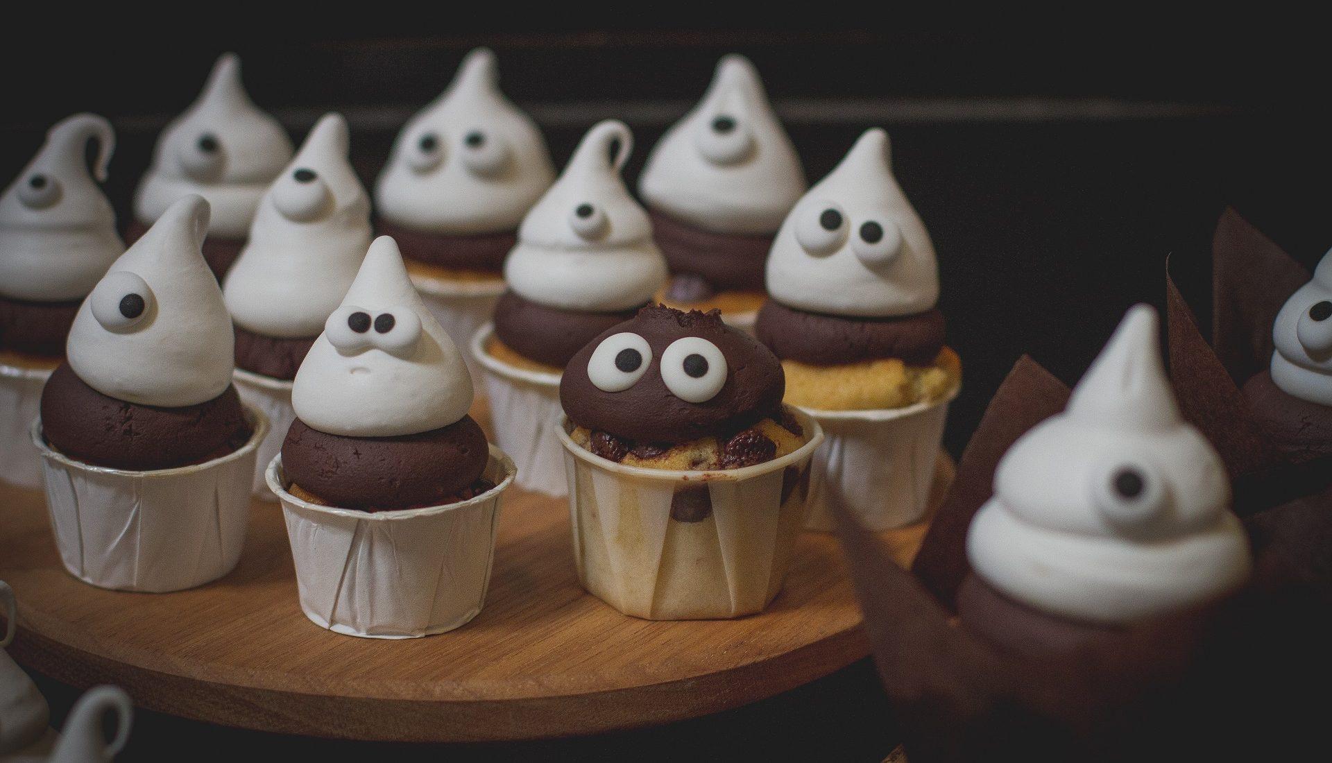 Cupcake fantasminha