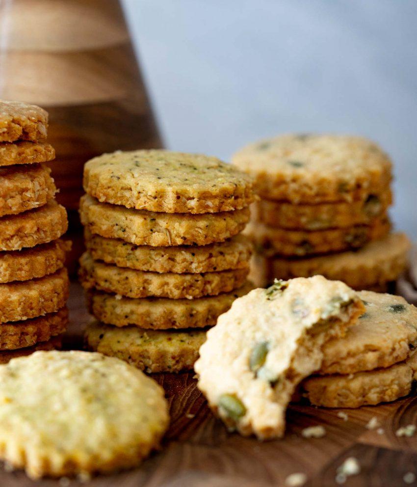Biscoito amanteigado de queijo