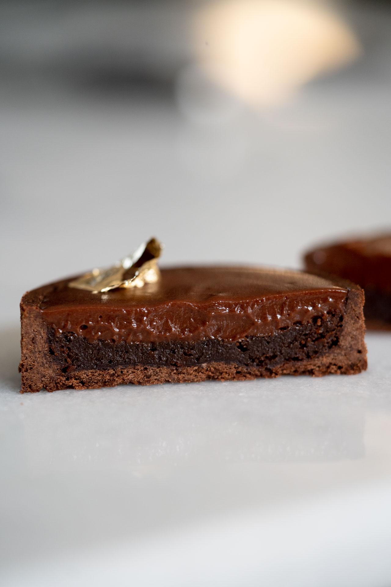 Torta de chocolate intensa