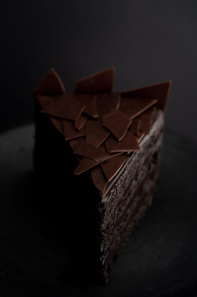 Bolo de chocolate escandaloso